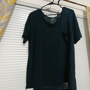 TWO Old Navy Boyfriend Fit T-shirts